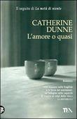 Copertina dell'audiolibro L'amore o quasi di DUNNE, Catherine