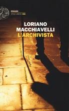 Copertina dell'audiolibro L'archivista di MACCHIAVELLI, Loriano