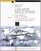 Copertina dell'audiolibro L'atlante delle storie vol. 1- l'alfabeto della storia di BRUSA, Antonio
