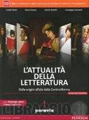 Copertina dell'audiolibro L'attualità della letteratura vol. 1 di BALDI, G. - GIUSSO, S. - RAZETTI, M.