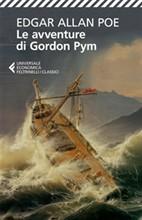 Copertina dell'audiolibro Le avventure di Gordon Pym di POE, Edgar Allan