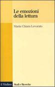 Copertina dell'audiolibro Le emozioni della lettura di LEVORATO, Maria Chiara