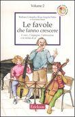 Copertina dell'audiolibro Le favole che fanno crescere di COLOMBO, B. - FABIO, R.A. - SAUR, L.