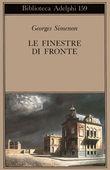Copertina dell'audiolibro Le finestre di fronte di SIMENON, Georges