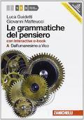 Copertina dell'audiolibro Le grammatiche del pensiero 2A di GUIDETTI, Luca - MATTEUCCI, Giovanni