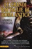 Copertina dell'audiolibro Le grandi battaglie di Roma antica di FREDIANI, Andrea