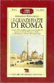 Copertina dell'audiolibro Le grandi piazze di Roma