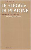 """Copertina dell'audiolibro Le """"leggi"""" di Platone. Trama e argomentazioni"""