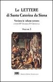 Copertina dell'audiolibro Le lettere di Santa Caterina da Siena vol. 3 di DI CIACCIA, Giuseppe (a cura di)