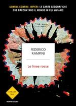 Copertina dell'audiolibro Le linee rosse di RAMPINI, Federico