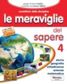 Copertina dell'audiolibro Le meraviglie del sapere 4 – storia geografia scienze