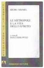 Copertina dell'audiolibro Le metropoli e la vita dello spirito di SIMMEL, Georg