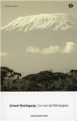 Copertina dell'audiolibro Le nevi del Kilimangiaro di HEMINGWAY, Ernest