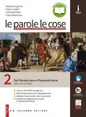 Copertina dell'audiolibro Le parole le cose 2 di LUPERINI, R. - CATALDI, P. - MARCHIANI, L.