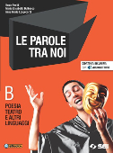 Copertina dell'audiolibro Le parole tra noi B di PANFILI, V. - DULBECCO, M.E. - LONGOBARDI, A.M.