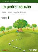 Copertina dell'audiolibro Le pietre bianche 1 – Antologia di BARABINO, Andrea - MARINI, Nicoletta