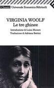 Copertina dell'audiolibro Le tre ghinee di WOOLF, Virginia