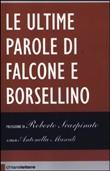 Copertina dell'audiolibro Le ultime parole di Falcone e Borsellino