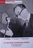 Copertina dell'audiolibro Le voci della Costituzione italiana di SARAGAT G. - TERRACINI U. - CALAMANDREI P.