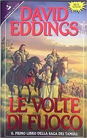Copertina dell'audiolibro Le volte di fuoco di EDDINGS, David
