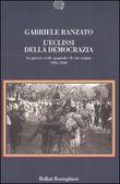 Copertina dell'audiolibro L'eclissi della democrazia di RANZATO, Gabriele