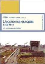 Copertina dell'audiolibro L'economia europea 1750-1914 di ALDCROFT, Derek A. - VILLE, Simon P.