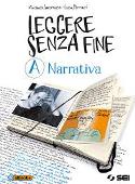 Copertina dell'audiolibro Leggere senza fine A – Narrativa di JACOMUZZI, Vincenzo - FERRARI, Luisa