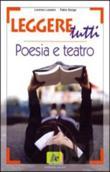 Copertina dell'audiolibro Leggere tutti – poesia e teatro di LAZZARO, Lorenzo - SONGA, Fabio