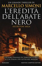 Copertina dell'audiolibro L'eredità dell'abate nero Secretum saga vol.1 di SIMONI, Marcello