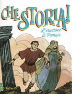 Copertina dell'audiolibro L'eruzione di Pompei