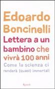 Copertina dell'audiolibro Lettera a un bambino che vivrà 100 anni