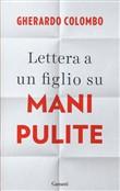 Copertina dell'audiolibro Lettera a un figlio su mani pulite di COLOMBO, Gerardo