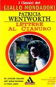 Copertina dell'audiolibro Lettere al cianuro di WENTWORTH, Patricia