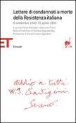 Copertina dell'audiolibro Lettere di condannati a morte della Resistenza italiana di ^Lettere...