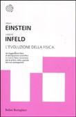Copertina dell'audiolibro L'evoluzione della fisica di EINSTEIN, Albert - INFELD, Leopold