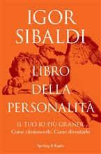 Copertina dell'audiolibro Libro della personalità di SIBALDI, Igor