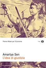 Copertina dell'audiolibro L'idea di giustizia di SEN, Amartya