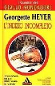 Copertina dell'audiolibro L'indizio incompleto di HEYER, Georgette