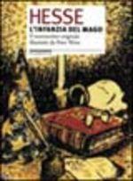 Copertina dell'audiolibro L'infanzia del mago e altre fiabe di HESSE, Hermann