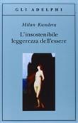 Copertina dell'audiolibro L'insostenibile leggerezza dell'essere di KUNDERA, Milan