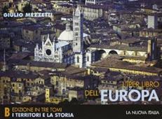Copertina dell'audiolibro L'iper libro dell'Europa tomo B di MEZZETTI, Giulio
