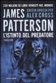 Copertina dell'audiolibro L'istinto del predatore di PATTERSON, James