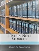 Copertina dell'audiolibro L'Istria di DE FRANCESCHI, Carlo