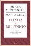 Copertina dell'audiolibro L'Italia del millennio di MONTANELLI, Indro - CERVI, Mario
