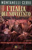 Copertina dell'audiolibro L'Italia del novecento di MONTANELLI - CERVI