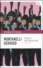 Copertina dell'audiolibro L'Italia del Settecento di MONTANELLI - GERVASO
