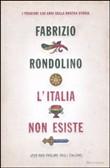 Copertina dell'audiolibro L'Italia non esiste di RONDOLINO, Fabrizio