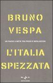 Copertina dell'audiolibro L'Italia spezzata di VESPA, Bruno