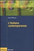 Copertina dell'audiolibro L'italiano contemporaneo