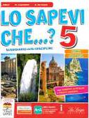 Copertina dell'audiolibro Lo sapevi che..? 5 Storia – Geografia di ALLEVI, L. - CAPPELLETTI, M. - DE GIANNI, A.